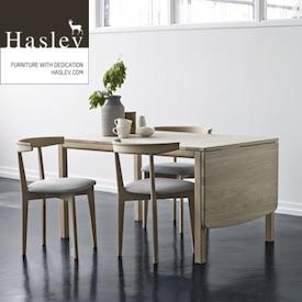 Haslev møbler | Stort udvalg af Haslev spisebord, sofabord og stole