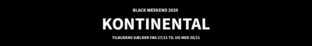KONTINENTALSENGE - BLACK FRIDAY