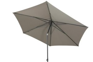 4SO Oasis parasol Ø300 cm - Taupe