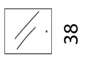 Hammel Mistral - Modul 094 - Glas dør
