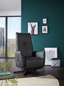 Himolla Eleganze stol m/ indbygget skammel elektrisk