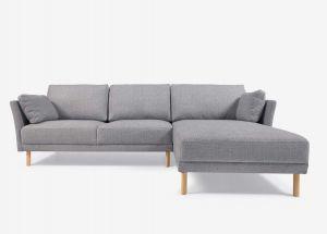 Kave Home Gilma sofa med chaiselong 260 cm - Højre