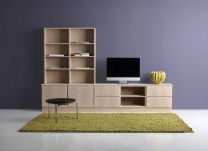 Klim Furniture - Tv-møbel inkl bogkasse - 250x164x40 cm