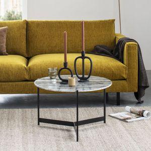 Bloom - Trip sofabord marmor - Ø65 cm