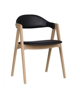 PBJ Titan spisebordsstol - Læder
