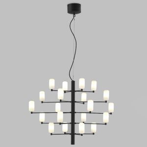 Aromas Gand loftlampe mat glas