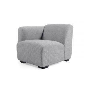 Kave Home Legara sæde modul med arm venstre