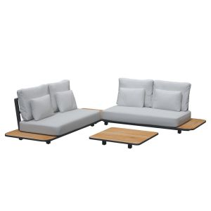 4SO Arcade sofabord 90x90x14 cm