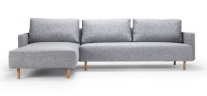 Urban living 600 Sofa m/ chaiselong 281x187 cm