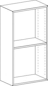 EDGE by Hammel - Modul 102 45,5x90x32,5 cm
