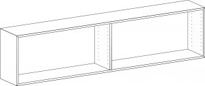 EDGE by Hammel - Modul 201 180x45,5x32,5 cm