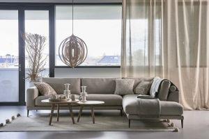 Cozy Ibisco sofa m/open end 285x228 cm