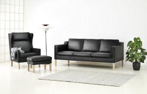 Eva 3+2 pers. 141/200 Sofa - Læder
