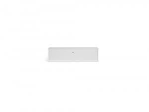 Hammel Mistral - Mediemodul med stofklap i hvid