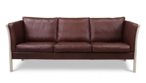 Stouby Stockhom 3 pers. sofa Bøffel læder