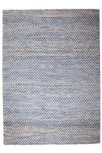 Java Tæppe blå