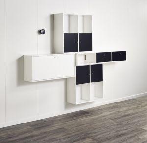 Hammel Mistral - Vægreol i sort og hvid