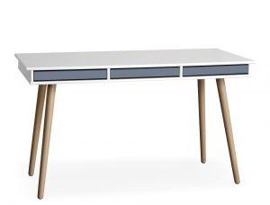 Hammel Mistral 302 skrivebord inkl. blå bakker 137,4x77x60 cm