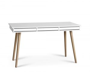 Hammel Mistral 302 Skrivebord inkl. Hvide bakker 137,4x77x60 cm