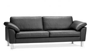 Monte 3 pers. sofa 210 cm - stof & læder