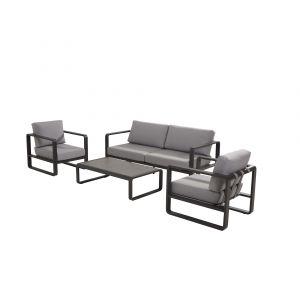 4SO Omega loungesæt matt carbon