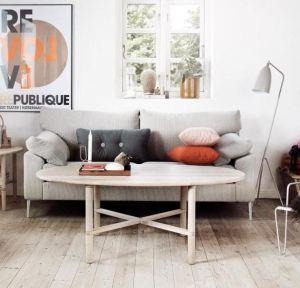 Haslev Opus sofabord - 120x72 cm