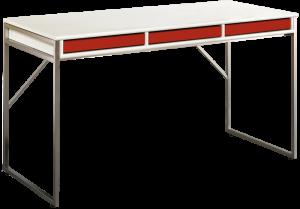 Hammel Mistral - Skrivebord med røde bakker