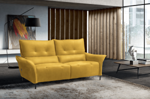 Leonardo 3 pers. sofa m/ elektrisk recliner 206 cm