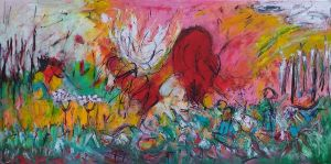Summer Party 70x140 cm
