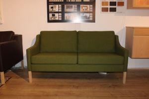 Stouby WB16 grønt stof - 2. pers - Udstillingsmodel
